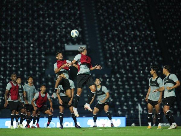 Persiapan timnas Indonesia jelang menghadapi Taiwan