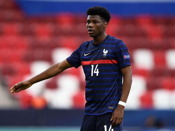 Gelandang Monaco Aurelien Tchouameni dipanggil ke timnas Perancis