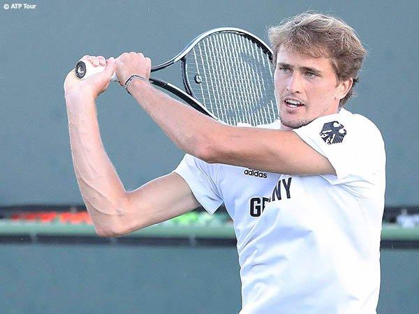Alexander Zverev siap ubah catatan buruk di Indian Wells pada musim 2021