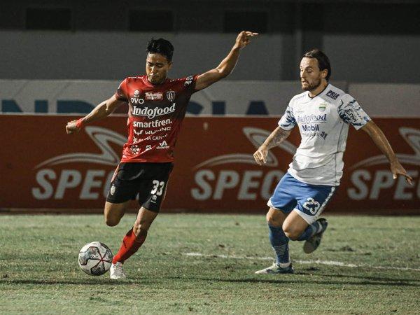 Pemain bertahan Bali United, Made Andhika Wijaya