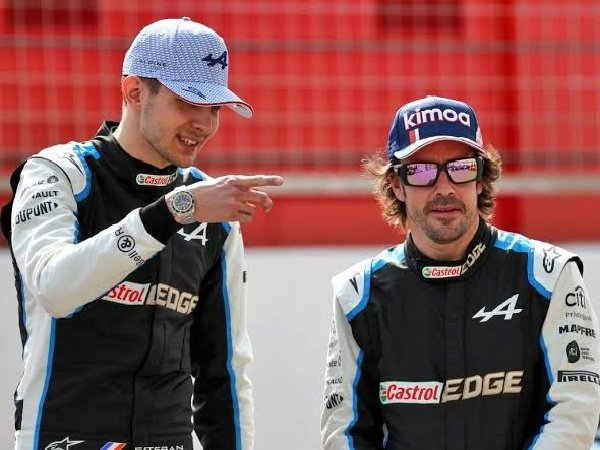 Fernando Alonso bersyukur punya tandem seperti Esteban Ocon.