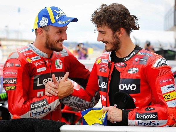 Francesco Bagnaia terima kasih kepada Jack Miller atas bantuannya di GP AS.
