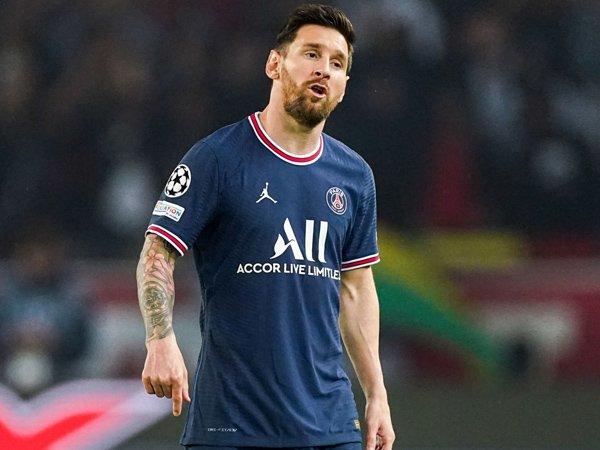Penyerang Paris Saint-Germain, Lionel Messi.
