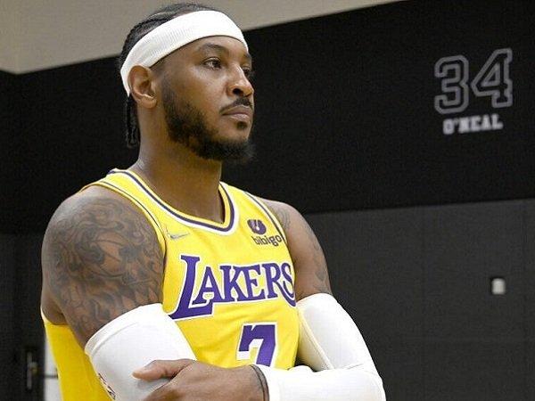 Pemain anyar Los Angeles Lakers, Carmelo Anthony.