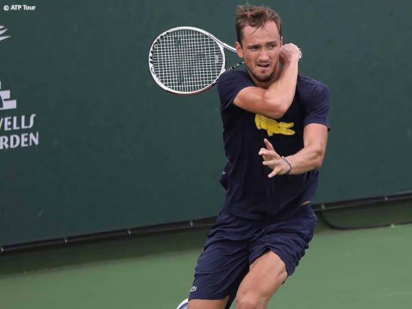 Daniil Medvedev masih termotivasi untuk raih kesuksesan jelang turnamen di Indian Wells