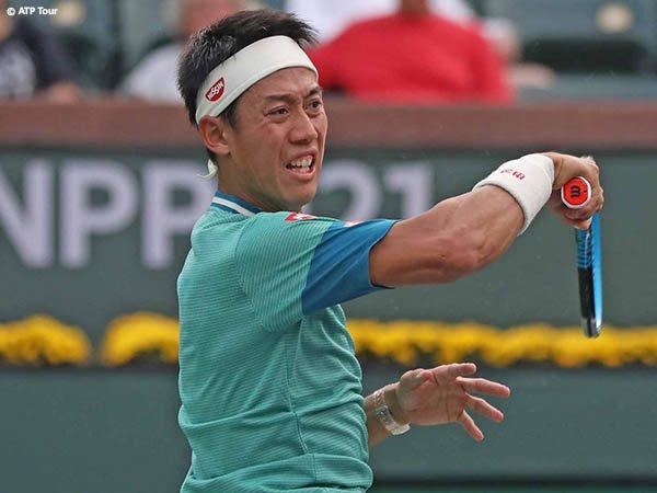 Kei Nishikori lumpuhkan Joao Sousa di babak pertama BNP Paribas Open 2021