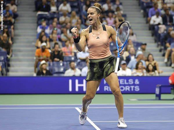 Maria Sakkari terpacu untuk kantongi satu tiket menuju WTA Finals 2021