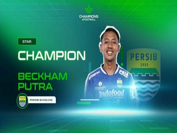 Persib Bandung Bawa Pulang Satu Gelar di Champions eFootball