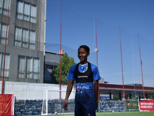 Gelandang Persib, Beckham Putra Nugraha menjadi wakil klub di turnamen Champions eFootball