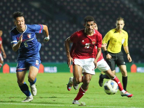 Ricky Kambuaya mampu tampil maksimal pada laga debutnya bersama timnas Indonesia