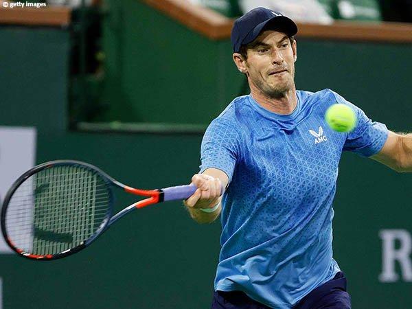 Andy Murray tak habiskan banyak waktu di laga pertama BNP Paribas Open 2021