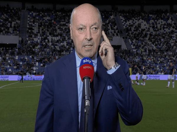 CEO Inter Milan, Beppe Marotta / via Sky Sport Italia