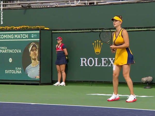 Elina Svitolina tak biarkan Tereza Martincova melangkah lebih jauh di Indian Wells 2021