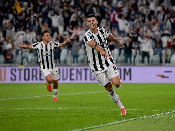 Alvaro Morata terancam disingkirkan oleh Juventus karena kedatangan Dusan Vlahovic.