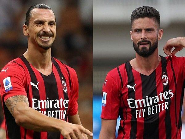 Pioli Berharap Bisa Mainkan Ibrahimovic dan Giroud