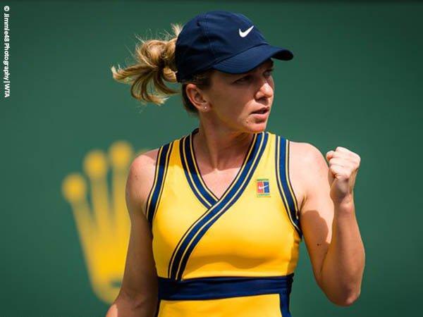Simona Halep pulangkan Marta Kostyuk dari Indian Wells musim 2021