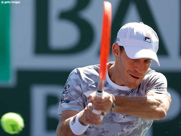 Diego Schwartzman amankan satu tempat di babak ketiga BNP Paribas Open 2021