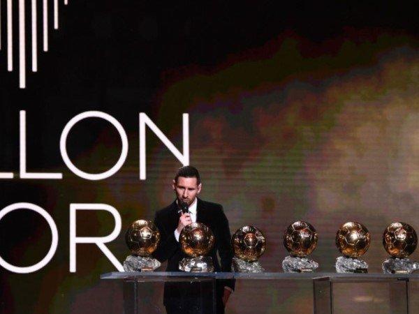 Lionel Messi Ungkap Pilihannya di Ballon d'Or 2021