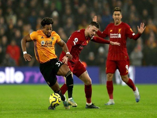 Liverpool diberitakan mulai bergerak untuk mendapatkan tanda tangan winger milik Wolves yaitu Adama Traore / via Getty Images