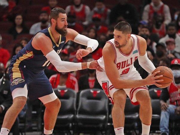Nikola Vucevic senang dikelilingi oleh pemain hebat di skuat Chicago Bulls.