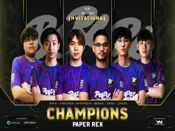 Bekap Bleed eSports, Paper Rex Sabet Juara KJC VALORANT Invitational