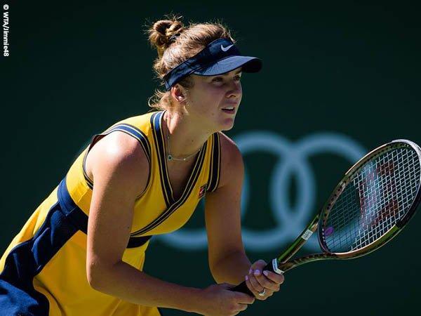 Elina Svitolina atasi tantangan demi satu tempat di babak keempat BNP Paribas Open 2021