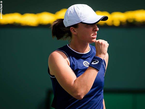 Iga Swiatek habisi Veronika Kudermetova di babak ketiga BNP Paribas Open 2021