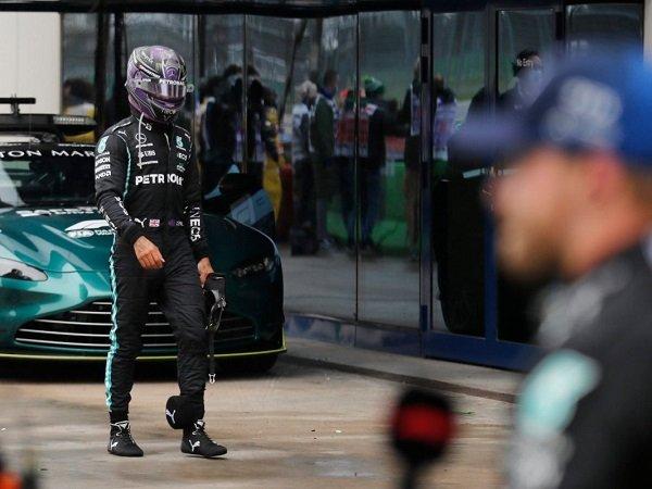 Lewis Hamilton frustasi tidak bisa petik hasil positif di GP Turki.
