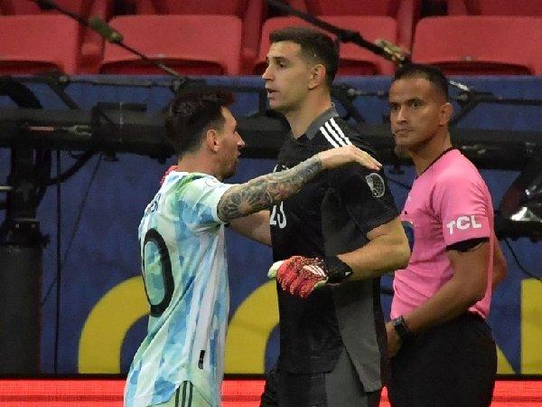 Lionel Messi puji Emiliano Martinez