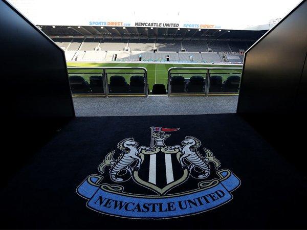 Logo Newcastle United.