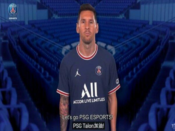 Setelah PSG.LGD, Messi dan Neymar Kini Beri Pesan Dukungan Bagi PSG Talon