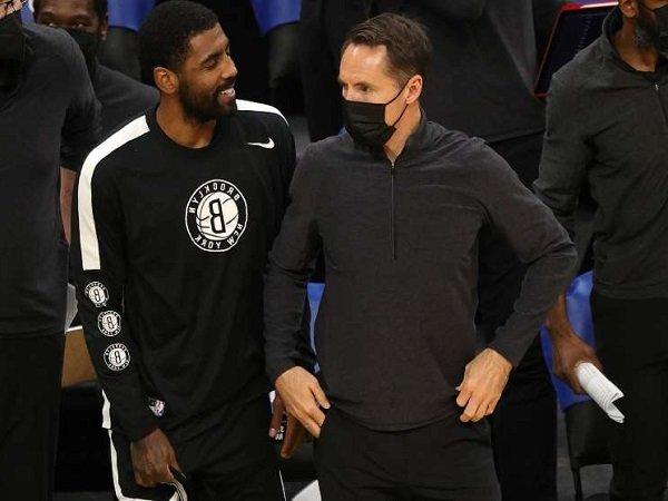 Steve Nash sadari kemungkinan Nets bermain tanpa kehadiran Irving.