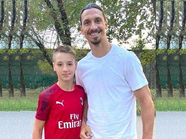Francesco Camarda dan Zlatan Ibrahimovic