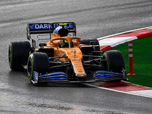 Lando Norris puas finis P7 di GP Turki