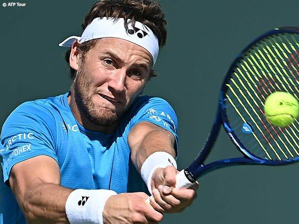 Casper Ruud tembus babak keempat BNP Paribas Open 2021
