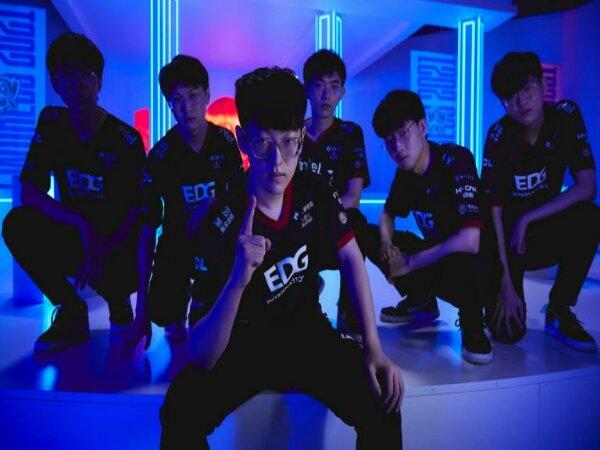 Hasil Worlds 2021: Taklukkan T1, Edward Gaming Pimpin Grup A