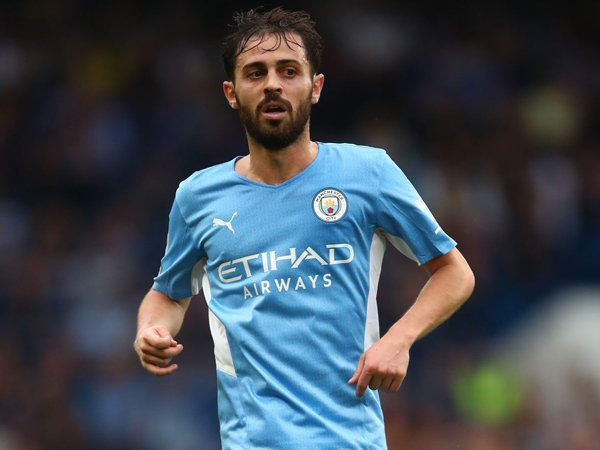 Gelandang Manchester City, Bernardo Silva.