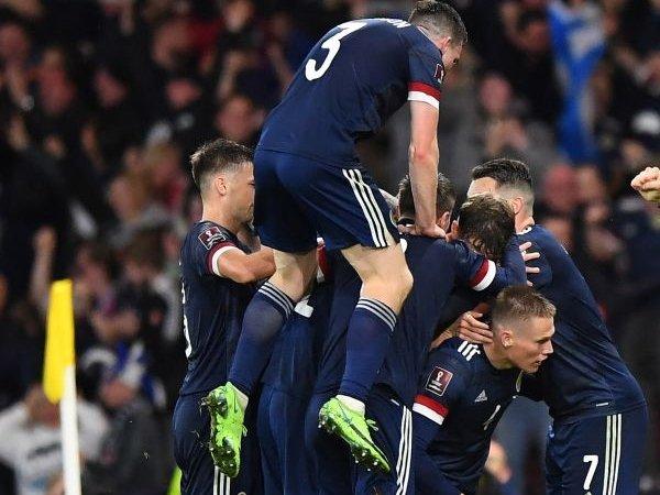 Skotlandia Punya 'Sikap' yang Bagus untuk Lolos ke Piala Dunia 2022