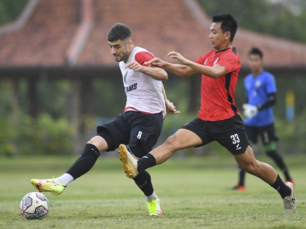 Persiapan Borneo FC menghadapi seri kedua