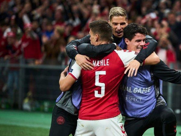 Denmark Jadi Tim Eropa kedua yang Lolos ke Piala Dunia 2022