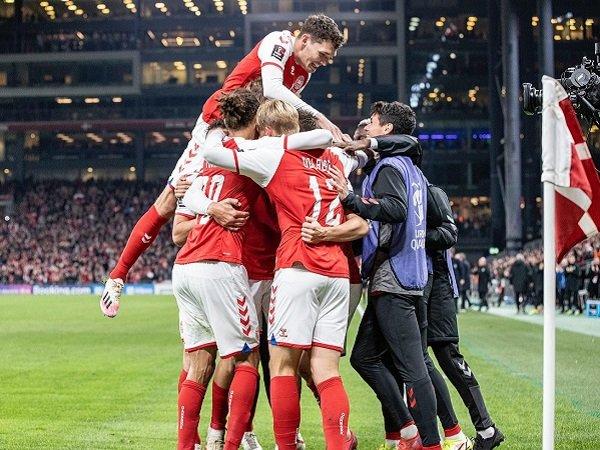 Denmark amankan tiket ke Piala Dunia 2022.