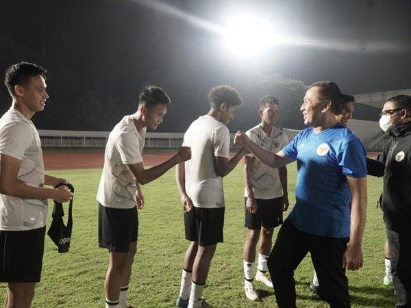Skuat timnas Indonesia U-23 yang dipersiapkan tampil pada babak Kualifikasi Piala AFC U-23