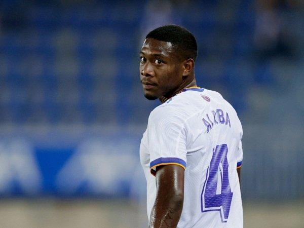 David Alaba terancam absen bela Real Madrid kontra Shakhtar Donetsk.