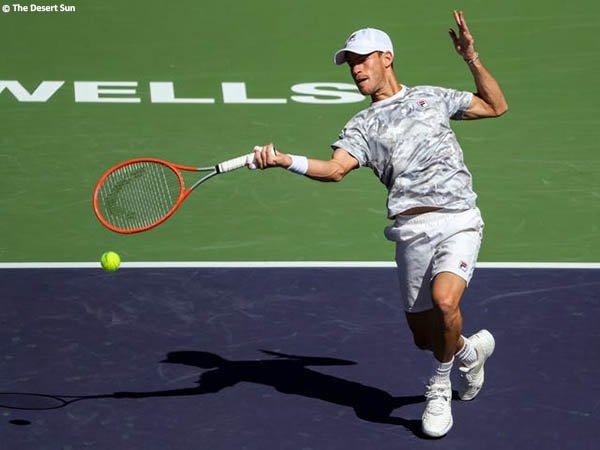 Diego Schwartzman bendung langkah Casper Ruud di Indian Wells musim 2021