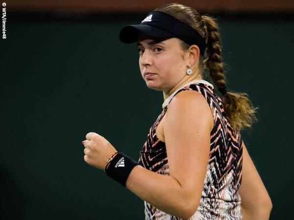 Jelena Ostapenko segel satu tiket semifinal BNP Paribas Open 2021