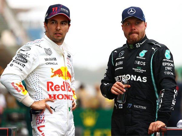 Sergio Perez dan Valtteri Bottas