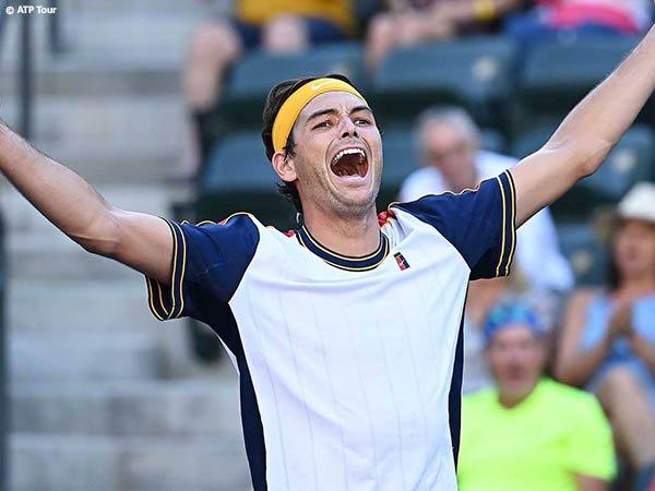 Taylor Fritz singkirkan Jannik Sinner dari Indian Wells musim 2021