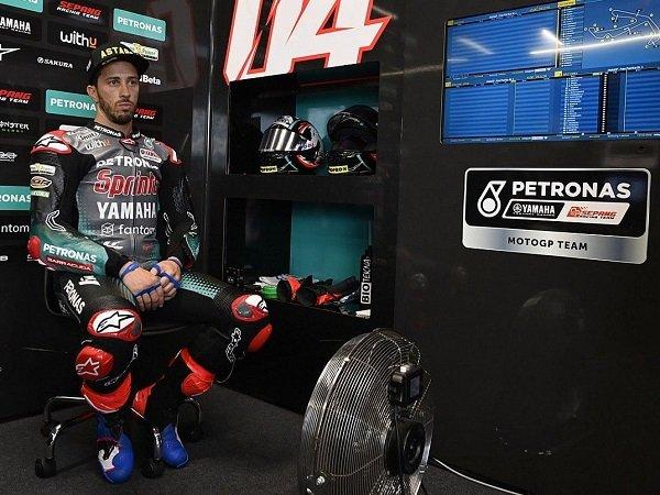Andrea Dovizioso akan kerja keras demi majukan prestasi Yamaha.