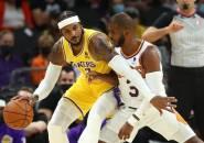 Carmelo Anthony Petik Pelajaran Positif Dari Laga Pramusim Lakers