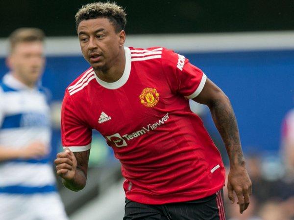 Gelandang Manchester United, Jesse Lingard.